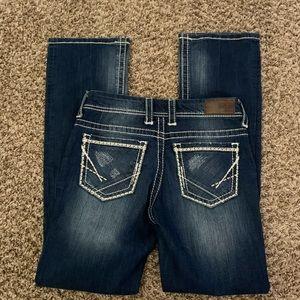 BKE bootcut jeans pants size 27 L